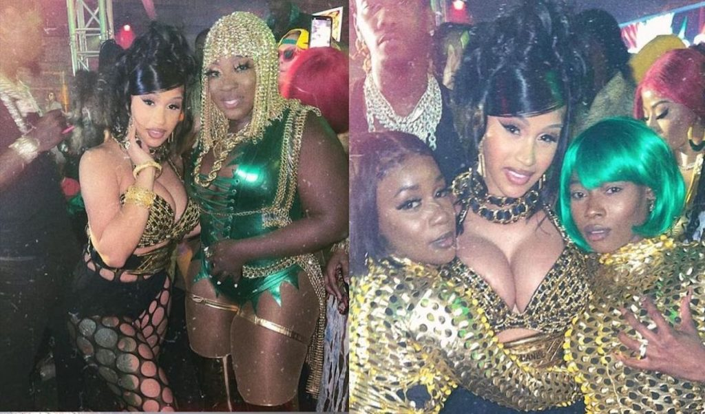 Shenseea & Spice Shared Same Stage At Cardi B's Birthday Party Despite Beef