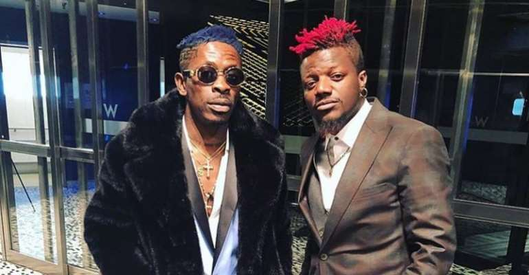 """""""I am sorry' - Pope Skinny renders apology to Shatta Wale"""