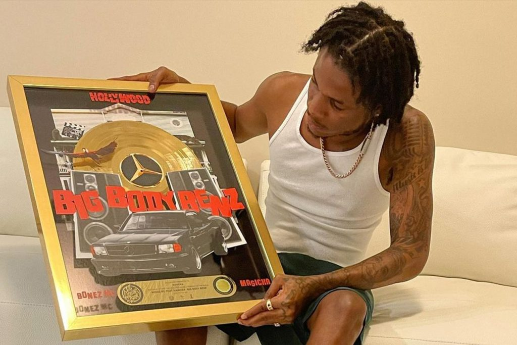 Masicka Cops Gold In Germany With Bonez MC For 'Big Body Benz'